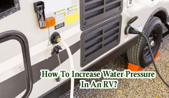 Water Hose Attached to RV